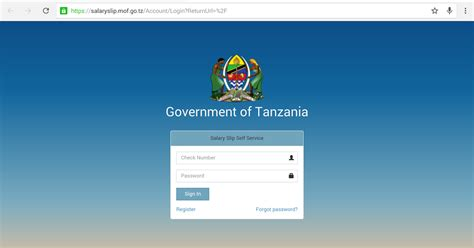 CILUASHAZ: How to register to the Salary slip portal official site; Turtorial with pictures
