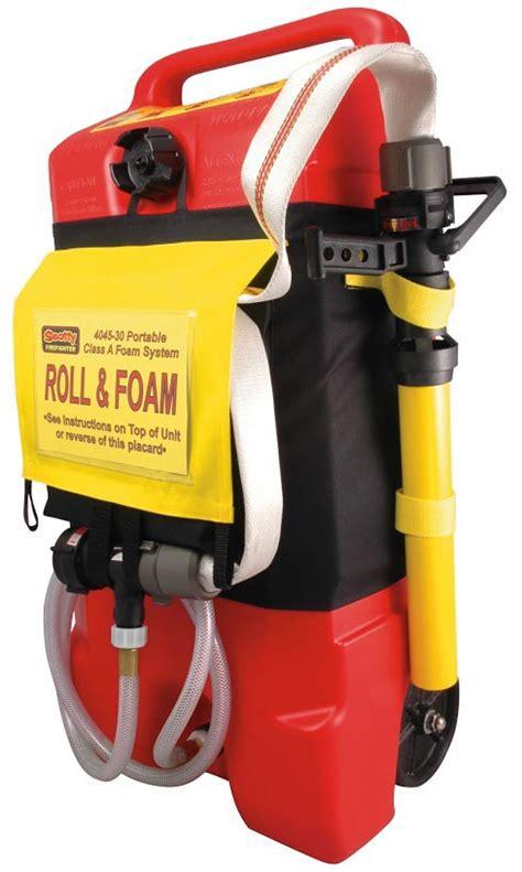 scotty foam eductor scotty roll foam mobile foam attack system 4045a 30 brt and rescue supplies