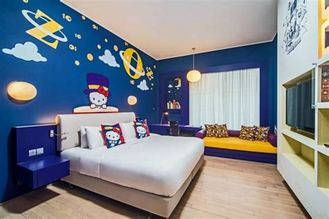 hotel themed weekends hello kitty themed hotel opens in johor home decor