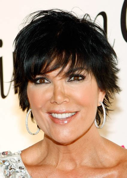 kris jenner hairstyles front and back kris jenner hairstyle front and back views short