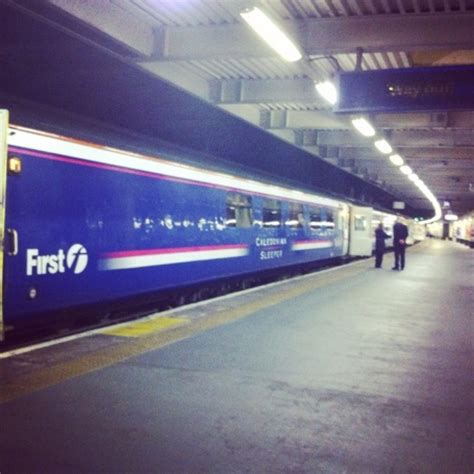 scotrail caledonian sleeper from to glasgow
