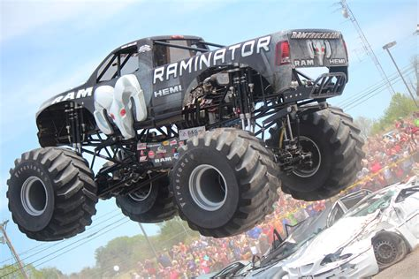 monster truck drag race hall brothers racing secures 11th thunder drag natl