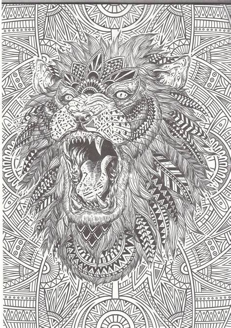 lion zentangle color me zoo pinterest lions adult 1000 images about coloring pages elephant rhino giraffe