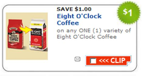 printable eight o clock coffee coupons printable coupons karo syrup newman s own activia