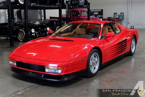 testarossa for sale usa 1987 testarossa 1987 testarossa car for