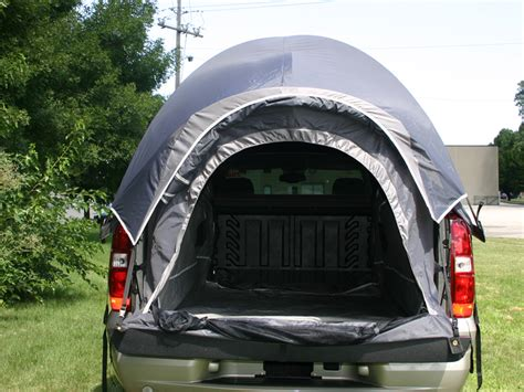 Back At The Tents by 99949 Sportz Avalanche Truck Tent Grey Avalanche Cadillac