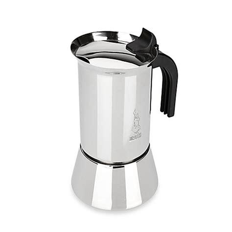 espresso maker bialetti buy bialetti 174 venus stainless steel 6 cup espresso maker