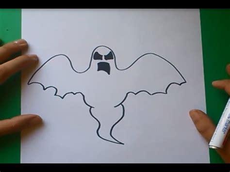 imagenes de halloween para dibujar faciles como dibujar un fantasma paso a paso how to draw a ghost