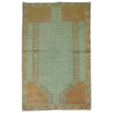 mid century modern turkish rug at 1stdibs