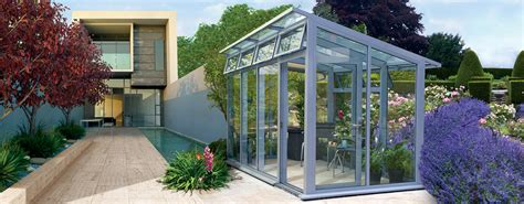 the horizon a modern contemporary greenhouse by hartley