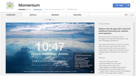 chrome extension momentum my favourites from the web 15 awesome google chrome