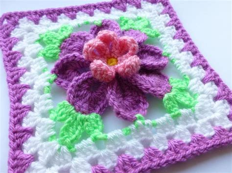 pattern crochet granny square 10 flower granny square crochet patterns to stitch