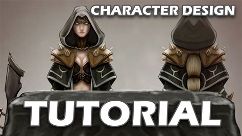 design concept tutorial tutorial character design concept art youtube