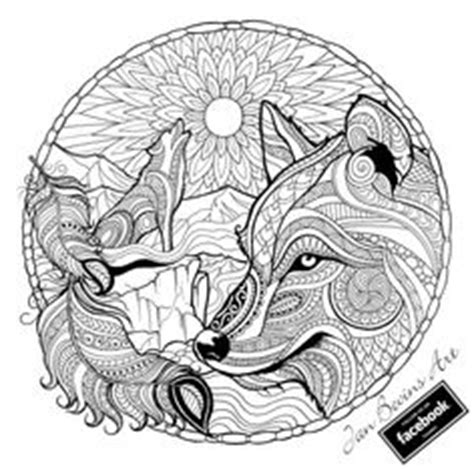 intricate wolf coloring pages 1000 images about wolf coloring pages on pinterest