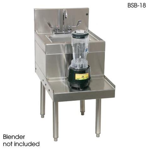 Blender Las Lpg glastender bsb 18 18 quot x 29 quot blender station etundra