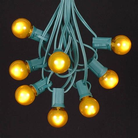 Yellow Outdoor String Lights Yellow String Lights