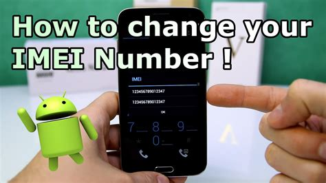 mobile imei number how to change android imei number root without root