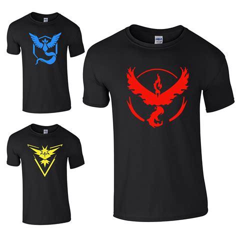 T Shirt Team Cap go cap team valor team mystic team instinct