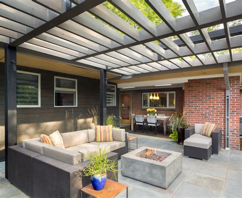 modern patio designs richthofen mcm contemporary patio denver by design