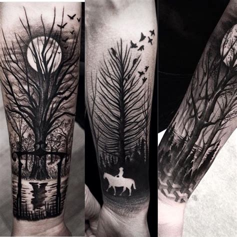 13 captivating negative space tattoos sheideas