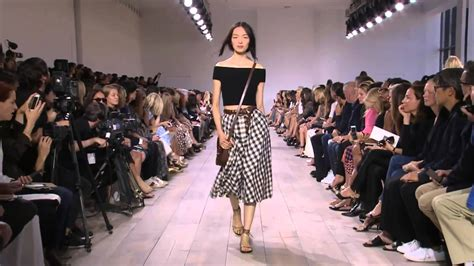 Of Fashion Exhibition by Michael Kors Summer 2015 Fashion Show E