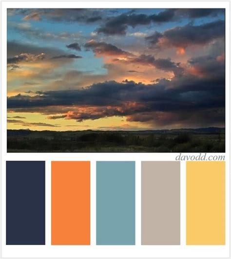 sunset color scheme 8 best sunset color schemes images on color