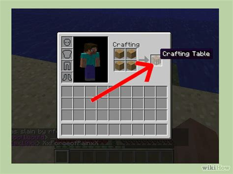 how to make a crafting bench in minecraft how to make a crafting table in minecraft 7 steps