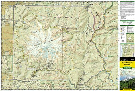 mt rainier national park map mount rainier national park map my