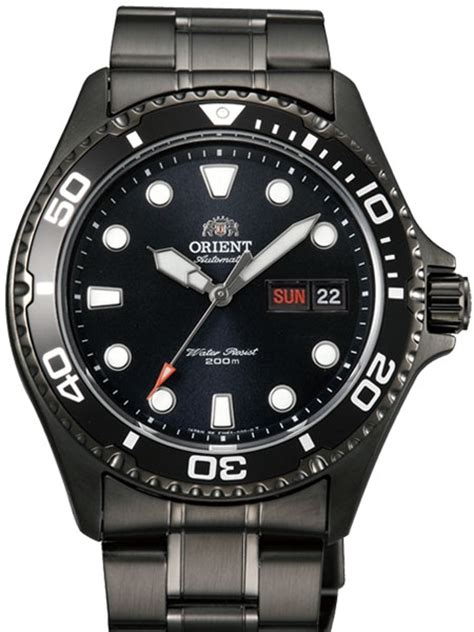 Orient Fem65007b9 orient ii black pvd automatic dive with