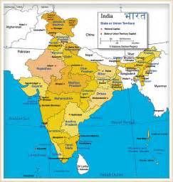 Map Of India Cities by India Map Of India S States And Union Territories