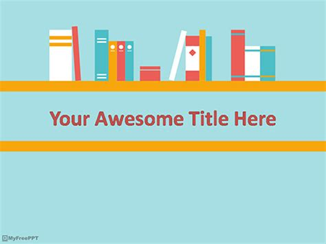 library powerpoint template library powerpoint template free free library