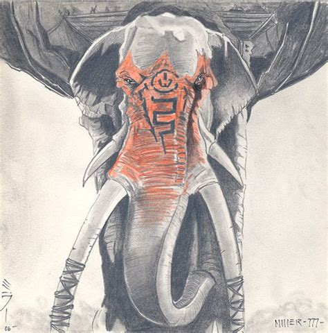 war elephant tattoo idea awesome badass mumak elephant ideas