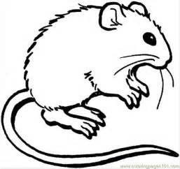 mouse colors free and mouse coloring pages