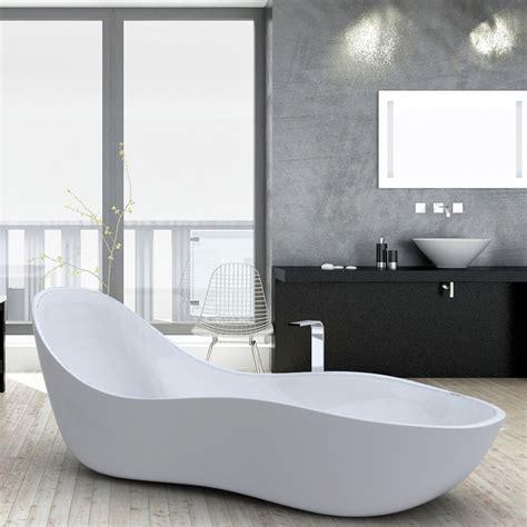 vasche da bagno design moderno vasca da bagno freestanding laccata design moderno wave