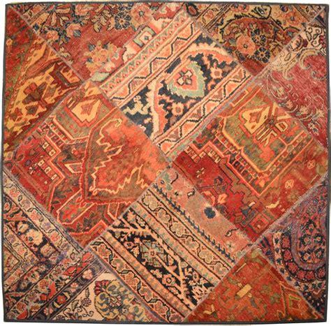 Square Area Rugs 5x5 Handmade 5x5 Square Patchwork Rug Ebay