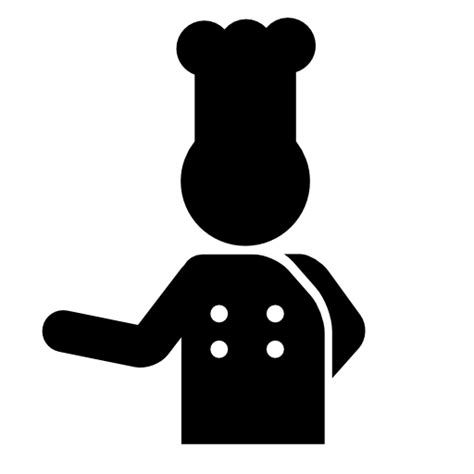pictogramme cuisine chef free icons