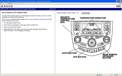 hvac blend door actuator testing solved honda tech service manual how to replace 1991 honda civic blend door actuator how to replace change a