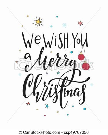 christmas  year lettering typography    merry christmas happy  year simple