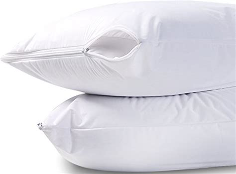 zippered pillow cover encasement waterproof bed bug proof waterproof zippered pillow encasement bed bug proof pillow