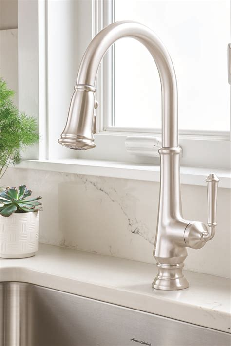 classic kitchen faucets delancey kitchen faucet collection from american standard
