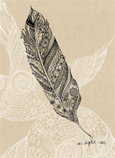 Light As A Feather by Light As A Feather Archival Quality Print Felt