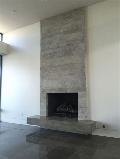 What Cement To Use For Fireplace by Concrete Board Form Veneer Tile Fireplace Surround And