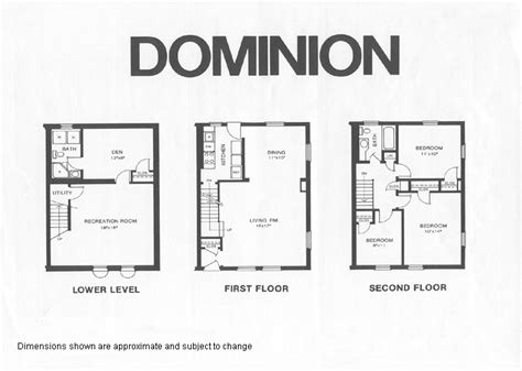 fairlington floor plans dominion1 model floor plan fairlington historic district