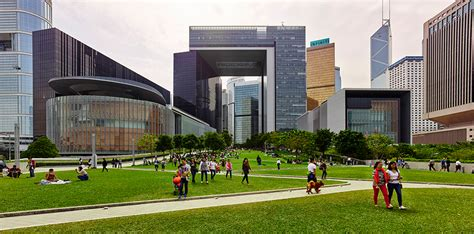 Landscape Architecture Hk Tamar Government Complex