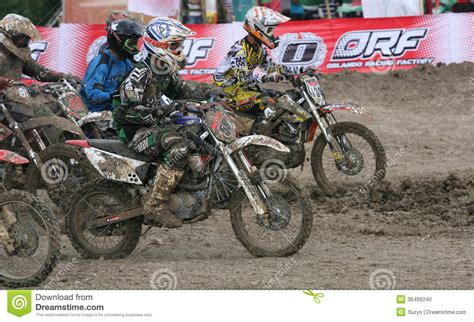 Cacing Sukoharjo motorcross editorial image image 36499240
