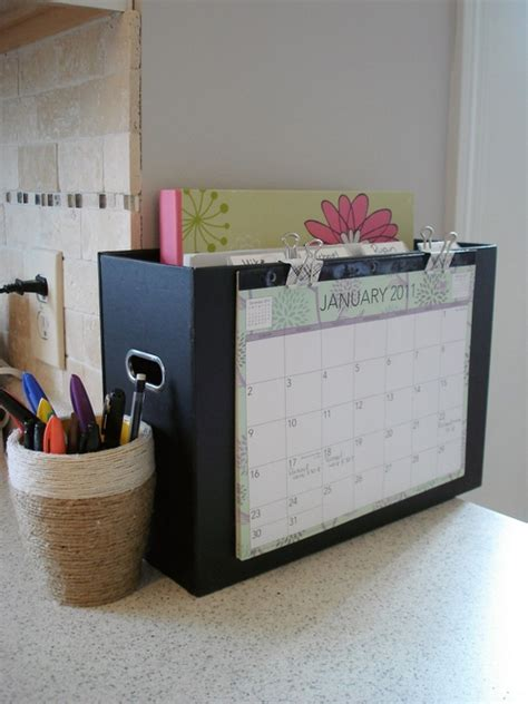 mail kitchen get organized paper clutter solutions the peaceful