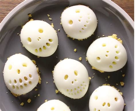 Skull Egg skull deviled eggs recipe
