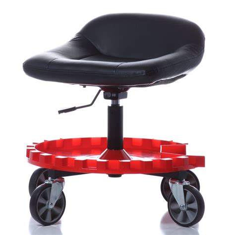 Heavy Duty Stools With Wheels by Work Stool With Wheels Mechanics Garage Creeper Seat Tools