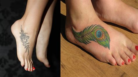 tattoo designs for women foot cut foot designs for