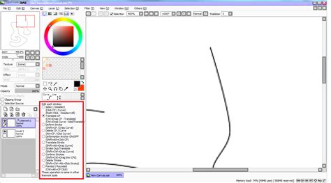 paint tool sai no curve tool curve tool with paint tool sai welcome to my